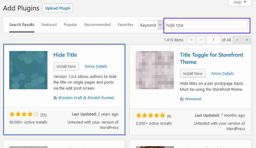 How to Hide a Page in WordPress
