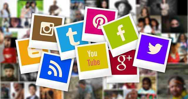 Use social media to promote yourself and your content