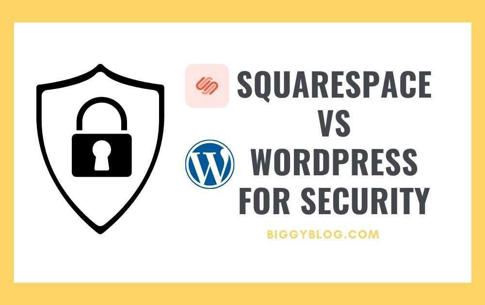 Squarespace vs WordPress for Security