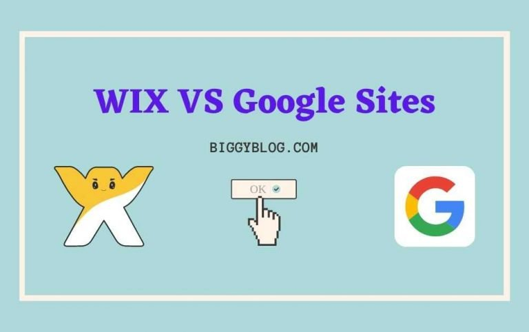 Wix VS Google Sites: Which One Is Better?