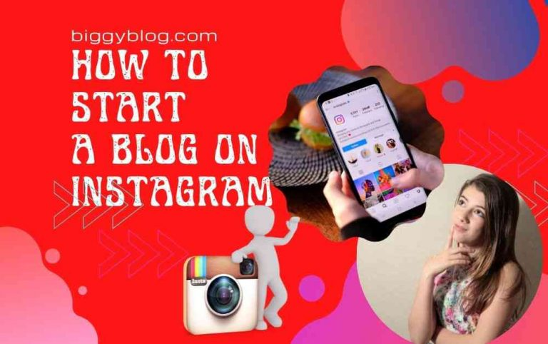 How to start a blog on Instagram