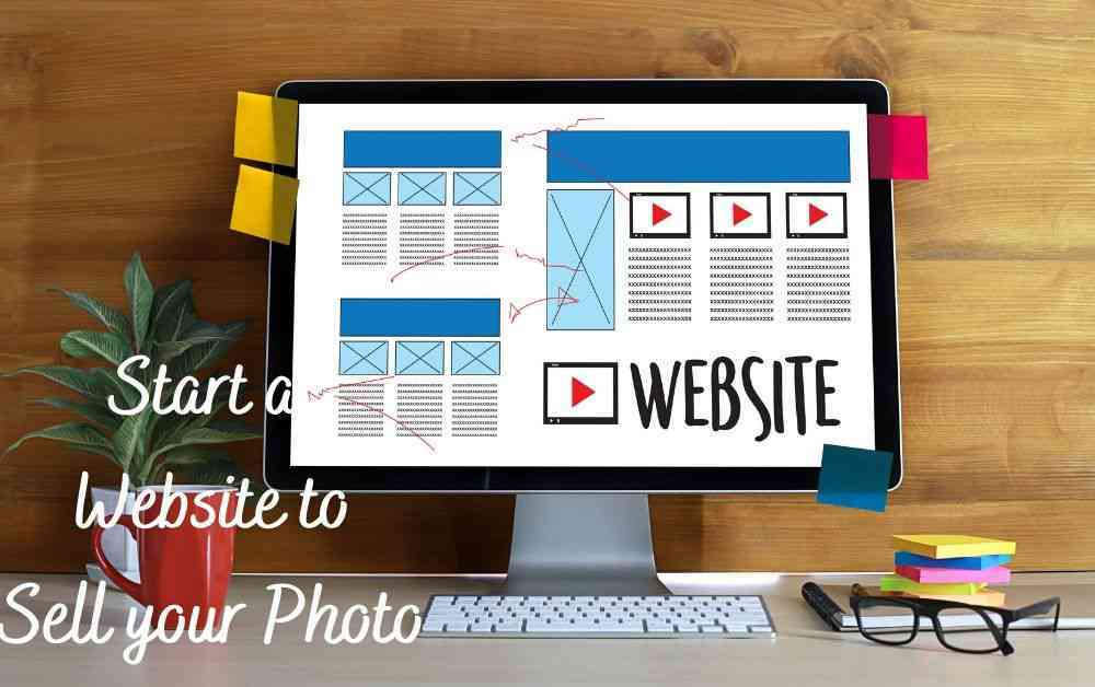 Start a Website for Sell Photos of Yourself